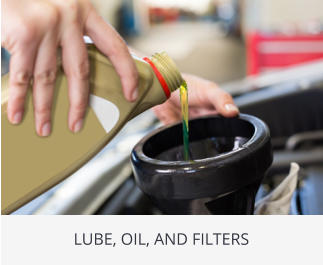 LUBE, OIL, AND FILTERS